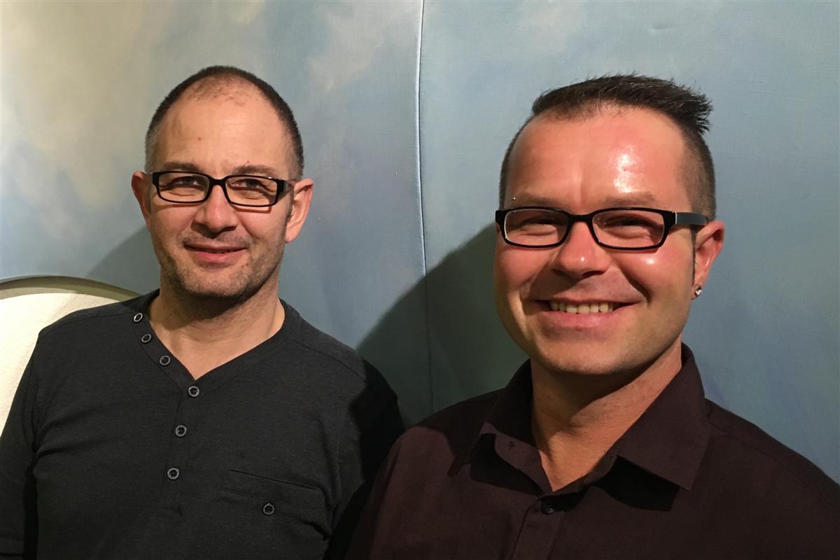 Christian Wehrli und Rudi Bazan