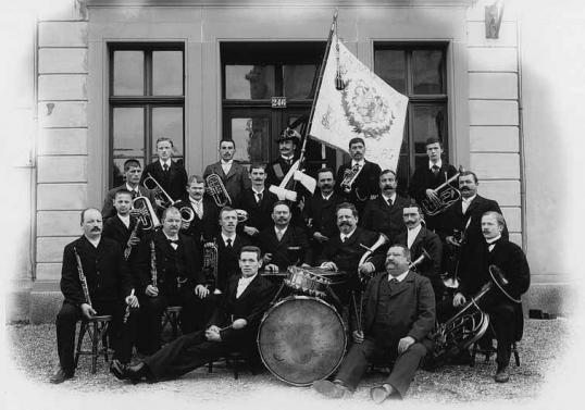 Stadtmusik anno 1903